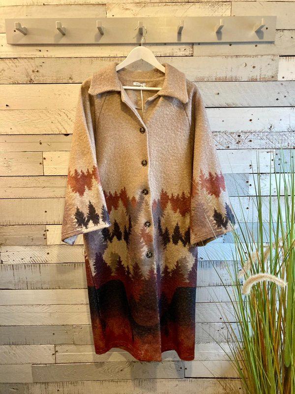 Taupe Woodland Coat