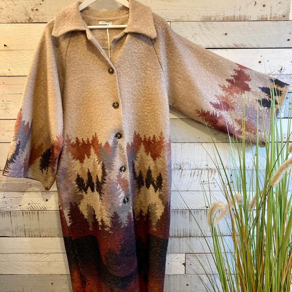 Taupe Woodland Coat