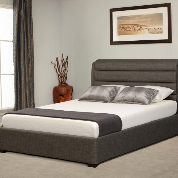 Chelsea Ottoman Bed Grey