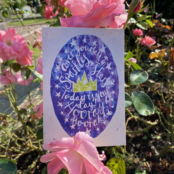 Cover Yourself In Sparkles Plantable Card