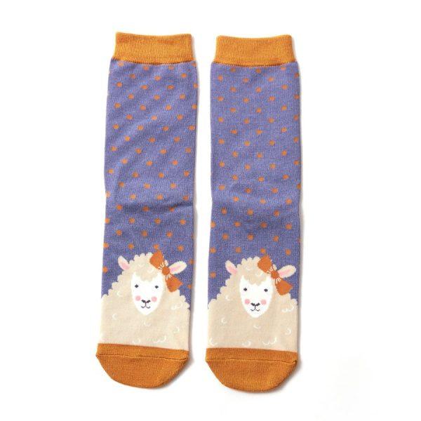 Cornflower Sheepish Socks