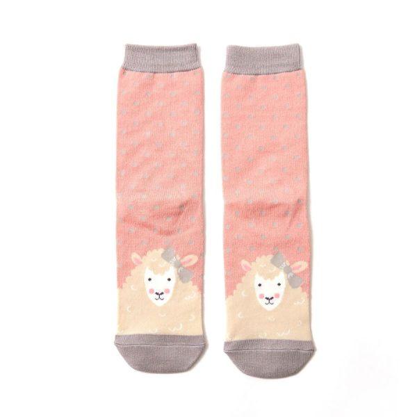Dusky Pink Sheepish Socks