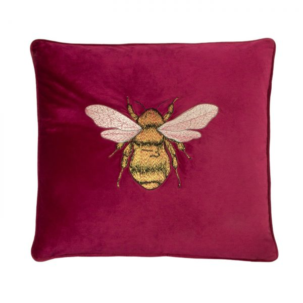 Fuchsia Hortus Cushion
