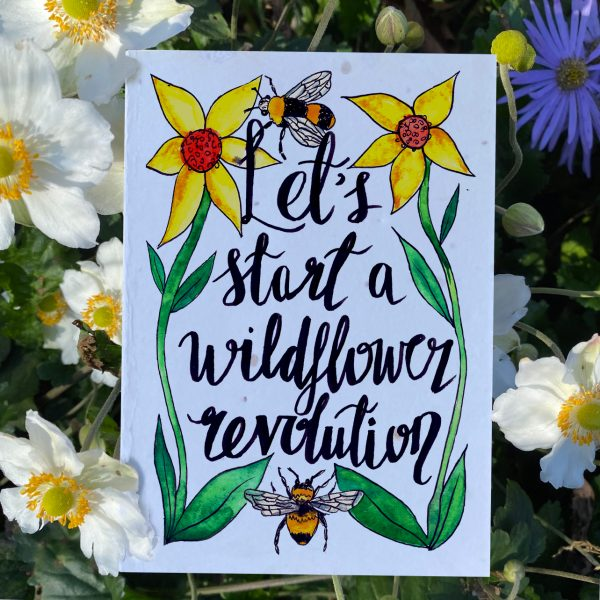 Wildflower Revolution Plantable Card