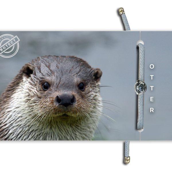 B-O-L-D Otter Bracelet